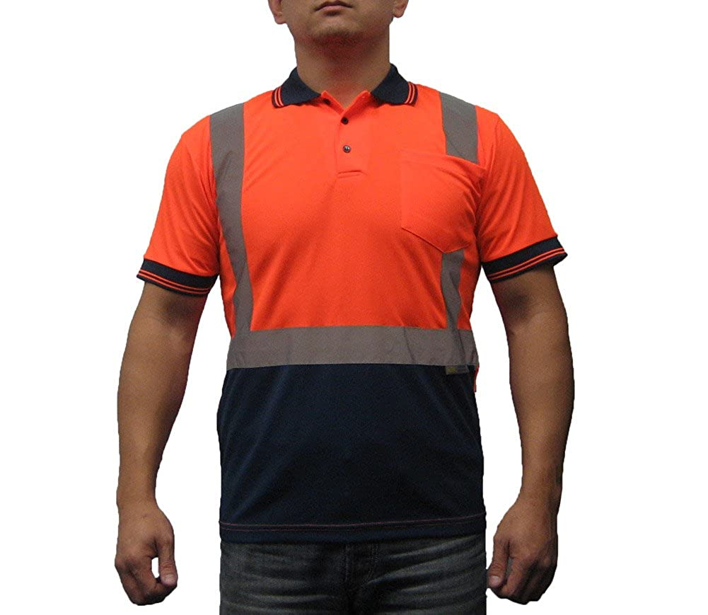 Amazon 3c Products Mens Safety Polo Shirt Ansiisea Neon