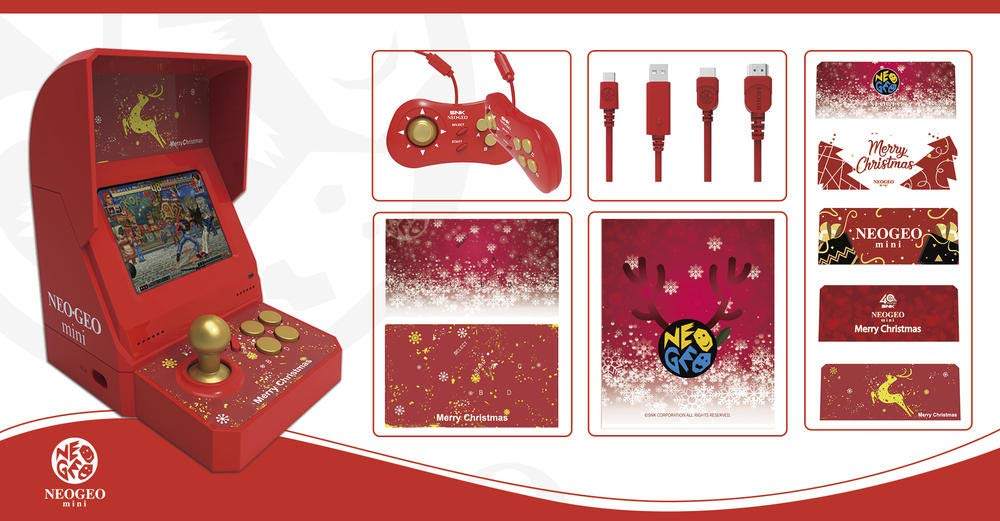 NEOGEO mini Christmas Limited Edition *(IN STOCK NOW! Ships USPS Priority Mail)* by SNK (Image #2)