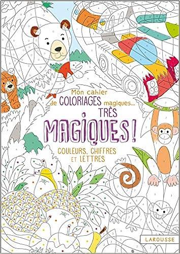 Mon Cahier De Coloriages Magiques Tres Magiques Couleurs Chiffres