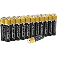 36-Pack Nanfu Long Lasting AAA Alkaline Batteries