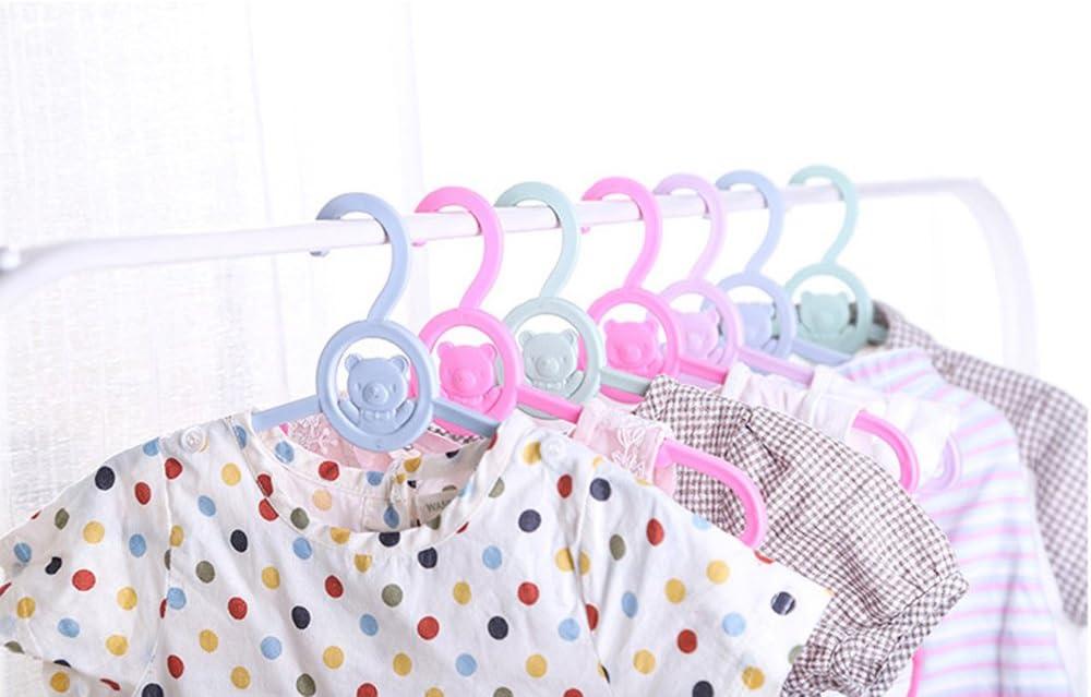 LAAT 5Pcs Cintres en Plastique pour Enfant,Mignonne Cintre pour V/êtements B/éb/é,Cintres Conception de Motif Dessin Anim/é