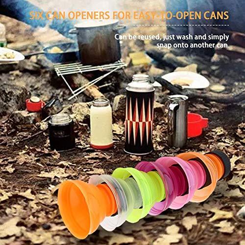 RoadRoma 6 Pezzi//Set pu/ò convertire risparmiatori di bibite Soda Bottle Drink Lid Caps Openers Riutilizzabili
