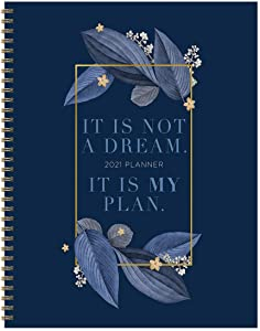 """TF PUBLISHING 2021 My Plan Large Weekly Monthly Calendar Planner - Appointment, Agenda, Note, Stickers, Checklist - Home/Office Planning and Organization -Premium Thick Uncoated Paper 8.5""""x11"""""""