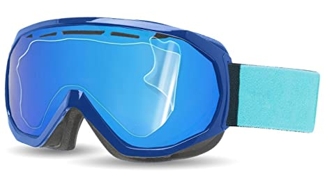 5f071f6267 RIPCLEAR Smith Outside The Wire Snow Goggle Lens Protector Kit - Scratch-Resistant