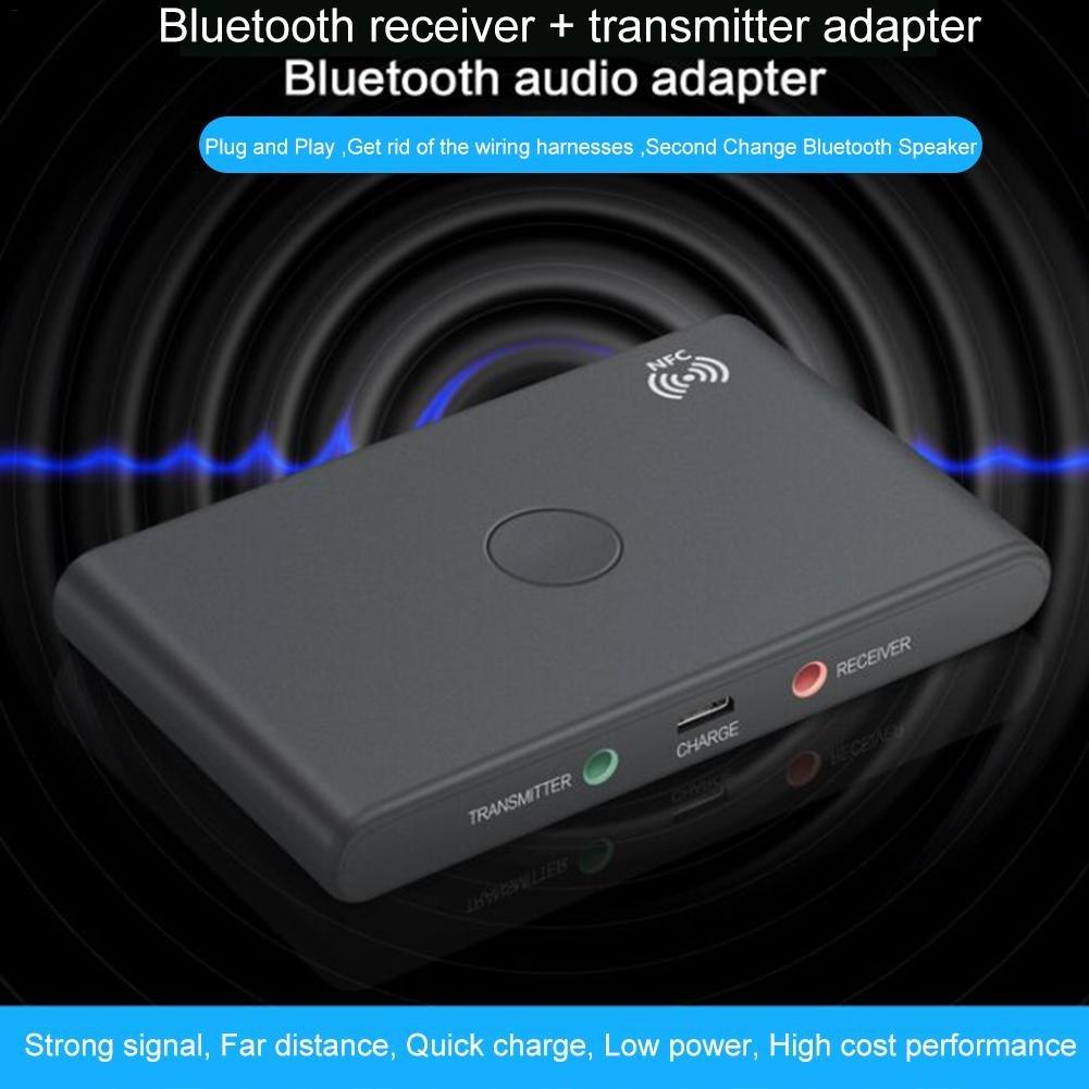 transmitidas y NFC Se puede usar para transmitir o recibir m/úsica de forma inal/ámbrica Starter Adaptador Bluetooth que integra las funciones recibidas