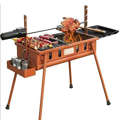 Ffshop BBQ de Carbón Parrilla Plegable portátil Estufa de ...