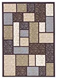 Ashley Furniture Signature Design – Keswick Medium Rug – Abstract Design – Multi-colored For Sale