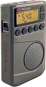 C. Crane CC Pocket AM FM and NOAA Weather Radio with