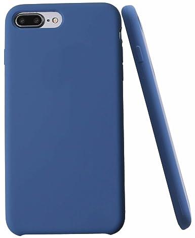 Amazon.com: Funda de silicona suave para iPhone X, interior ...