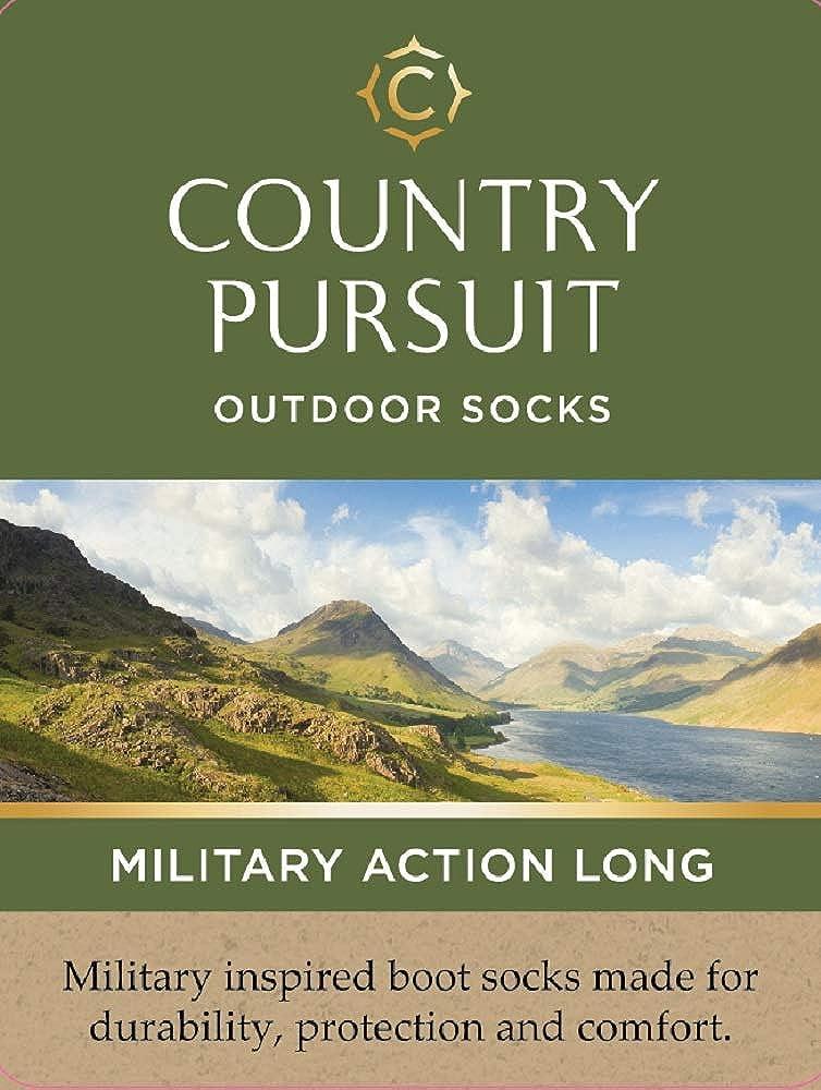 misto lana 45 EU 41 Country Pursuit 1 paio di calzini lunghi per azione militare