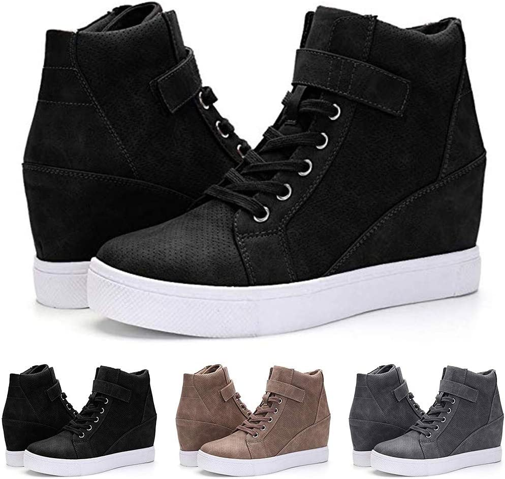 Casual Baskets Chaud Lhiver ELECTRI Chaussure Compensee