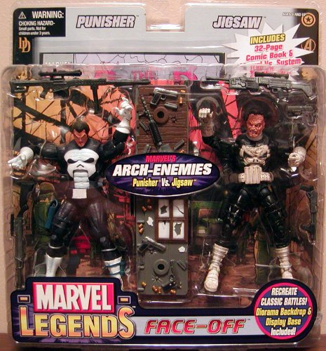Marvel Legends Face Off Punisher Vs. Jigsaw ()