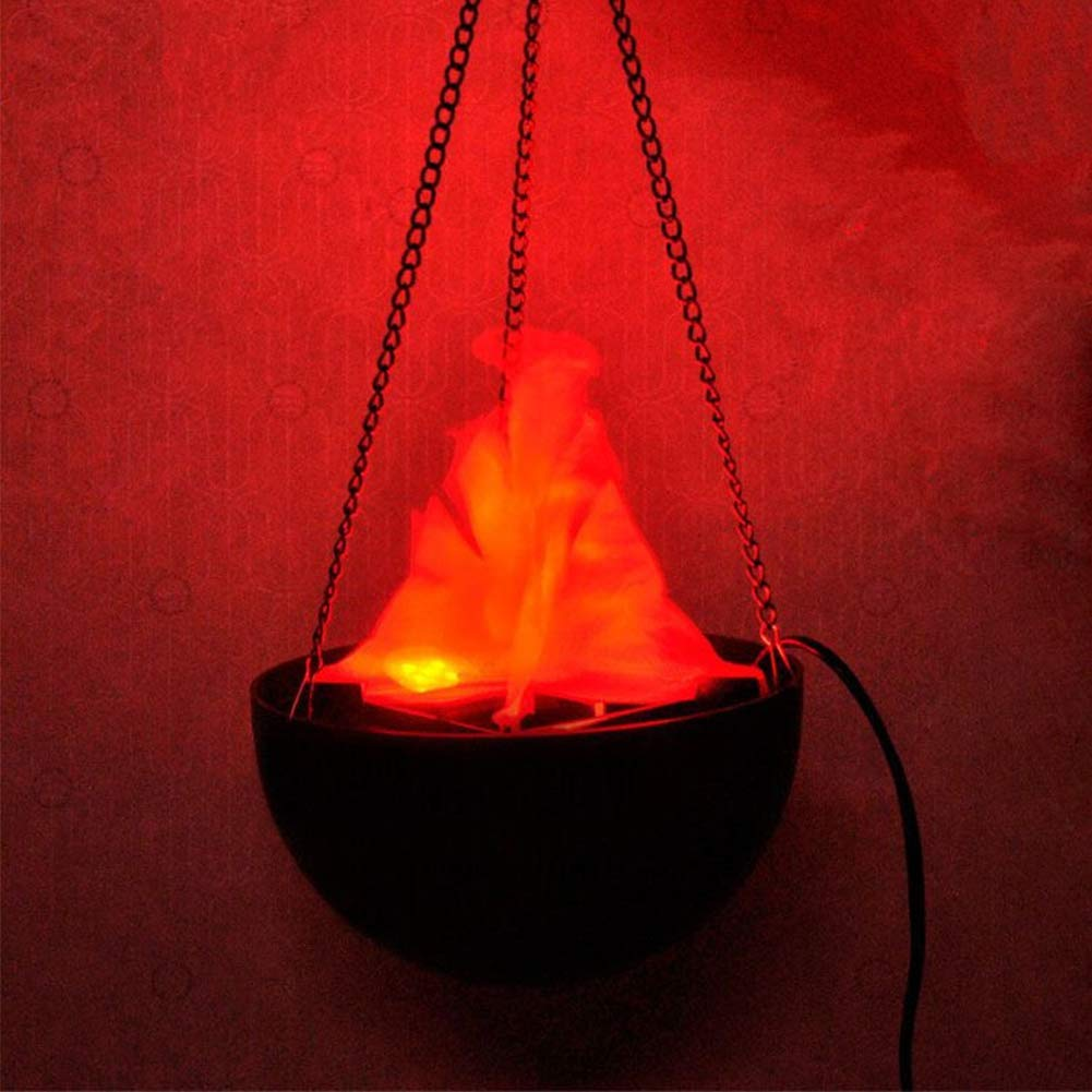 Artificial Fire Lamp, Outdoor Landscape Artificial Flame Fire Simulated Nature Brazier Lamp (US)