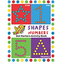 Dot Markers Activity Book: Easy Guided BIG DOTS | Do a dot page a day | Giant, Large, Jumbo and Cute USA Art Paint…