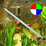 LED Fish Tank Lights Aquarium Lighting 30 LED 6.5W 5050 SMD RGB Light Bar Underwater Submersible Waterproof Clip Lamp