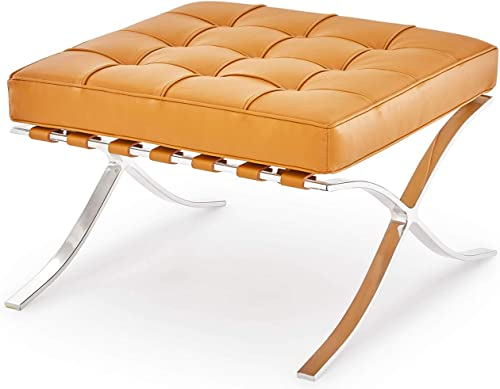 Zuri Furniture Modern Catalonia Ottoman