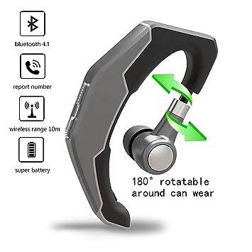 Auriculares Bluetooth, Auriculares inalámbricos Q3 con micrófono HD Cancelación de ruido estéreo a prueba de