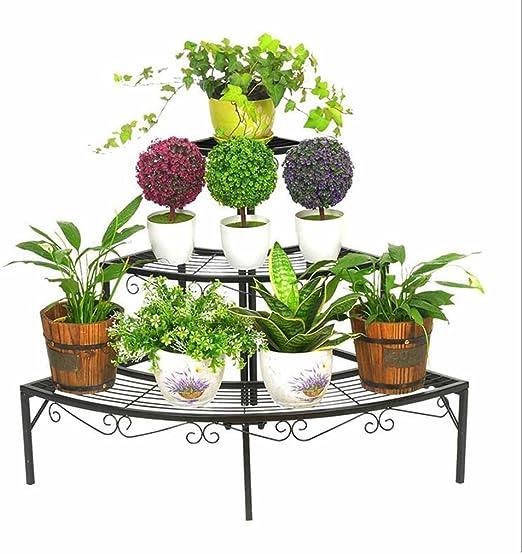 Soporte de exhibición de la flor de la planta Estable 3 plantas de ...