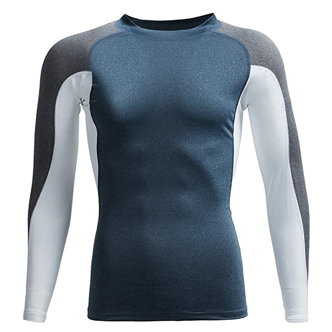 2d1ba9db07 MaaMgic Mens Short Sleeve Rashguard Swim Wear Sun Protective Swim Tee Shirt  - - Medium: Amazon.co.uk: Clothing