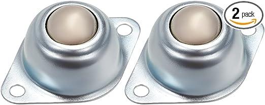 10pcs Dia 5//8/'/' CY-15A Ball Metal Transfer Bearing Unit Conveyor Roller