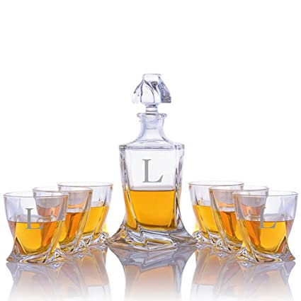 Quadro Decanter Set