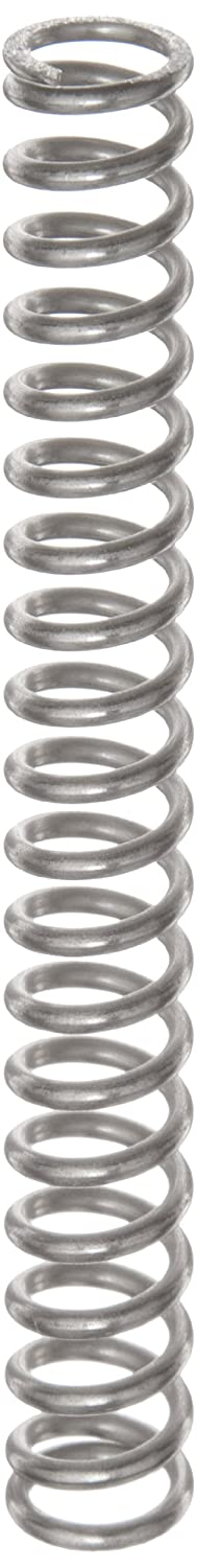 Compression Spring Stainless Steel Metric 11.6 mm OD 1.6 mm Wire Size 37.9 mm Compressed Length 85 mm Free Length 141.32 N Load Capacity 3.01 N mm Spring Rate Pack of 10