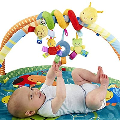 Langle New Kids Infant Baby Girls Boys Cartoon Shape Wrap Around Bed Doll to Stuffed Animals & Teddy Bears: Home & Kitchen