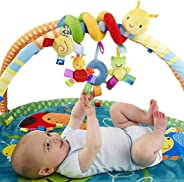Lanbter Kids Infant Baby Girls Boys Cartoon Shape Wrap Around Bed Doll to Stuffed Animals & Teddy Bears