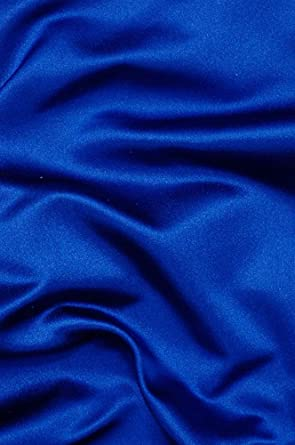 Royal Blue Duchess Satin Fabric