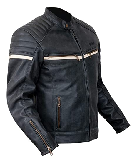 Amazon.com: Bilt Alder - Chaqueta de piel, 46: Automotive