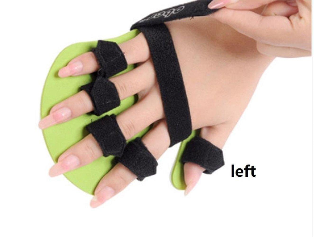 Wenrityent Finger Rehabilitation Gerät Platte Schlag Ausrüstung Finger Feste Separator Hemiplegie Rehabilitation Hemiplegie, Links L