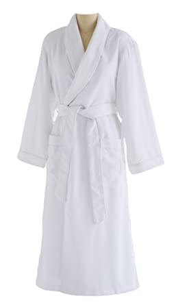 fea35b4c55 Chadsworth   Haig Ultimate Doeskin Microfiber Bathrobe Lined in Terry -  Luxury Spa Bathrobe For Women and Men at Amazon Women s Clothing store