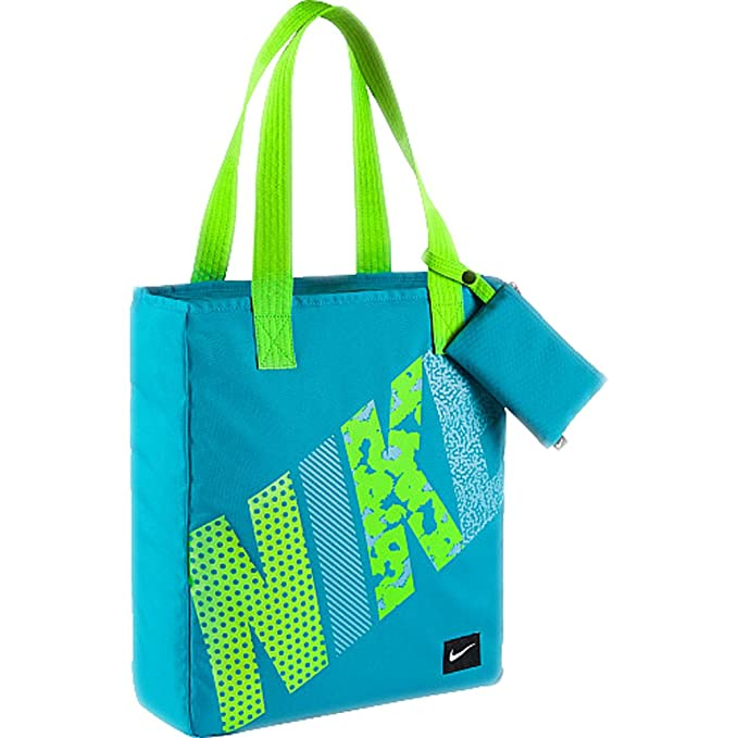 25353e796fb3 Amazon.com  Kids  Nike Rowena Bag (Aqua Sea Foam Green)  Sports ...