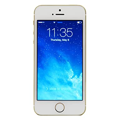 49dcc66dfe415f Apple iPhone 5s Unlocked Smartphone, 16GB, Gold: Amazon.co.uk ...