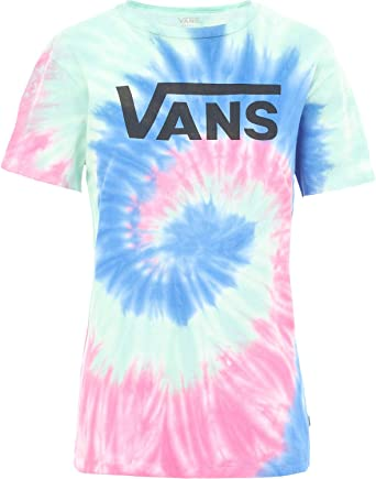 tee shirt tie and dye vans