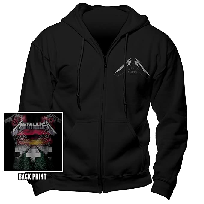 Kapuzen Rückendruck Master Jacke Puppets Mit Metallica Of xBrsthQdC