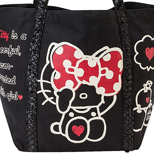 Hello Kitty canvas tote bag (sequins)