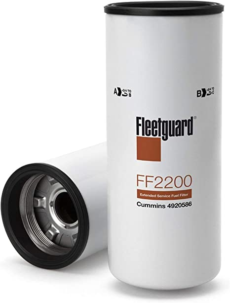 6 Pack of New and Genuine Fleetguard FF5825NN Fuel Filter