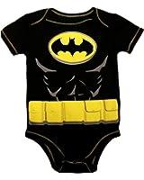 Warner Bros. Baby Boys' Batman Bodysuit - Black and Yellow