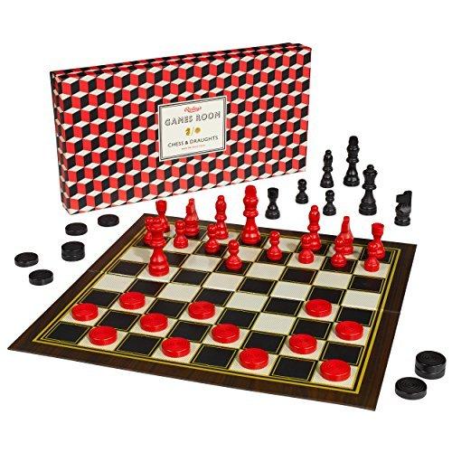 激安超安値 Ridley's Games Room B01M5KC81D Chess Ridley's and Games Checkers by Ridley's Games Room B01M5KC81D, バイクバイク用品のレオタニモト:1ceec577 --- cygne.mdxdemo.com