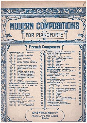 Valse - Arabesque O. 82 - Piano ()