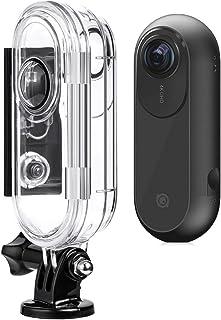 MachinYesell Etui insta360 One Action Camera Caisson Étui Transparent et Noir