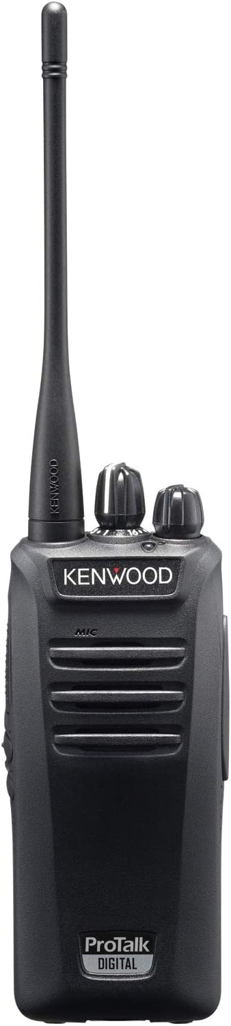 Kenwood NX-340U16P2 Two Watt Digital UHF Nexedge Professional Business Radio, Black