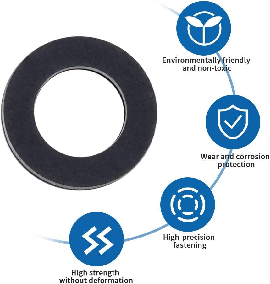 20 pieces Aluminum Engine Oil Drain Plug Crush Gasket Washers Seals,12mm Oil Drain Plug Gaskets,Suitable for Toyota car part number 90430-12031-