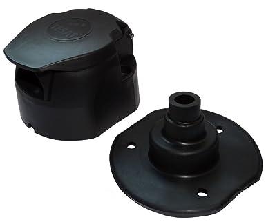 Aerzetix: Buchse 7Pin Stecker Anschluss der Anhängerkupplung 7-polig ...