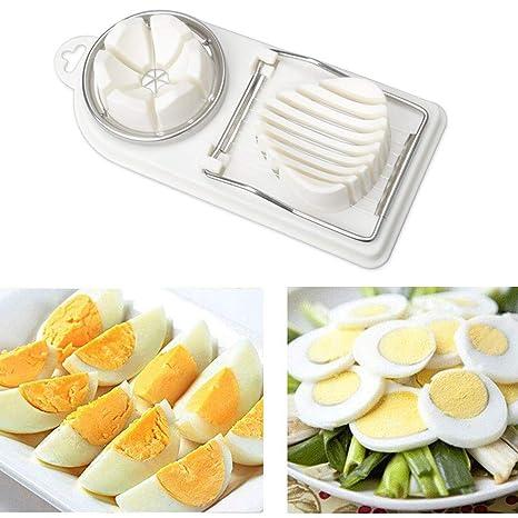 Amazon.com: Cortador de huevos, 2 en 1, alambre de corte de ...