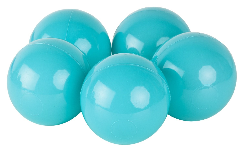 Velinda 150 Bälle, Bällebad/Bällezelt/Kinderpool Plastikbälle Spielbälle Kinderbälle O7cm (Farbe der Bälle: Türkis) Velinda 150 Bälle