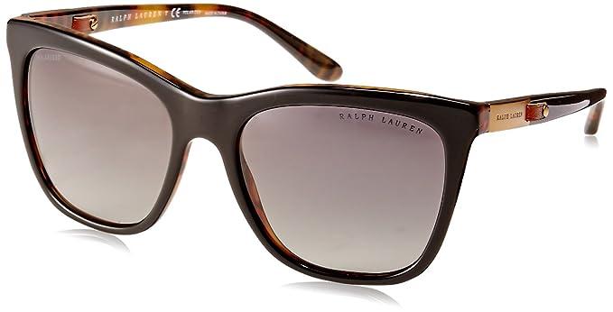 Ralph Lauren 0Rl8151Q, Gafas de Sol para Mujer, Top Black/Jerry Havana,
