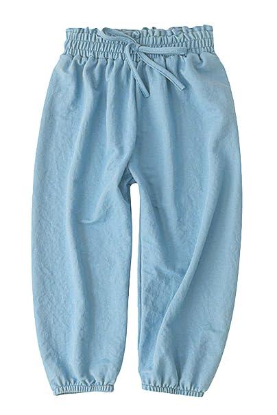 PAUBOLI Baby Long Bloomers Soft Cotton Harem Pants for Boys Girls 12M-6T