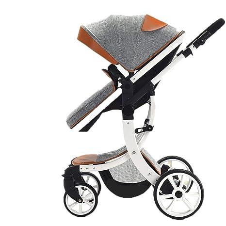 Carro de bebé ligero . La variedad de colores del marco de aluminio del cochecito de
